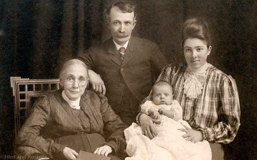 Asa and Phebe Richardson Family